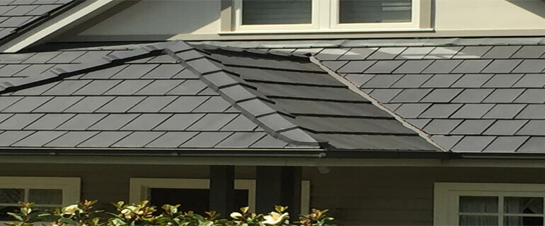 Close Up On Roof