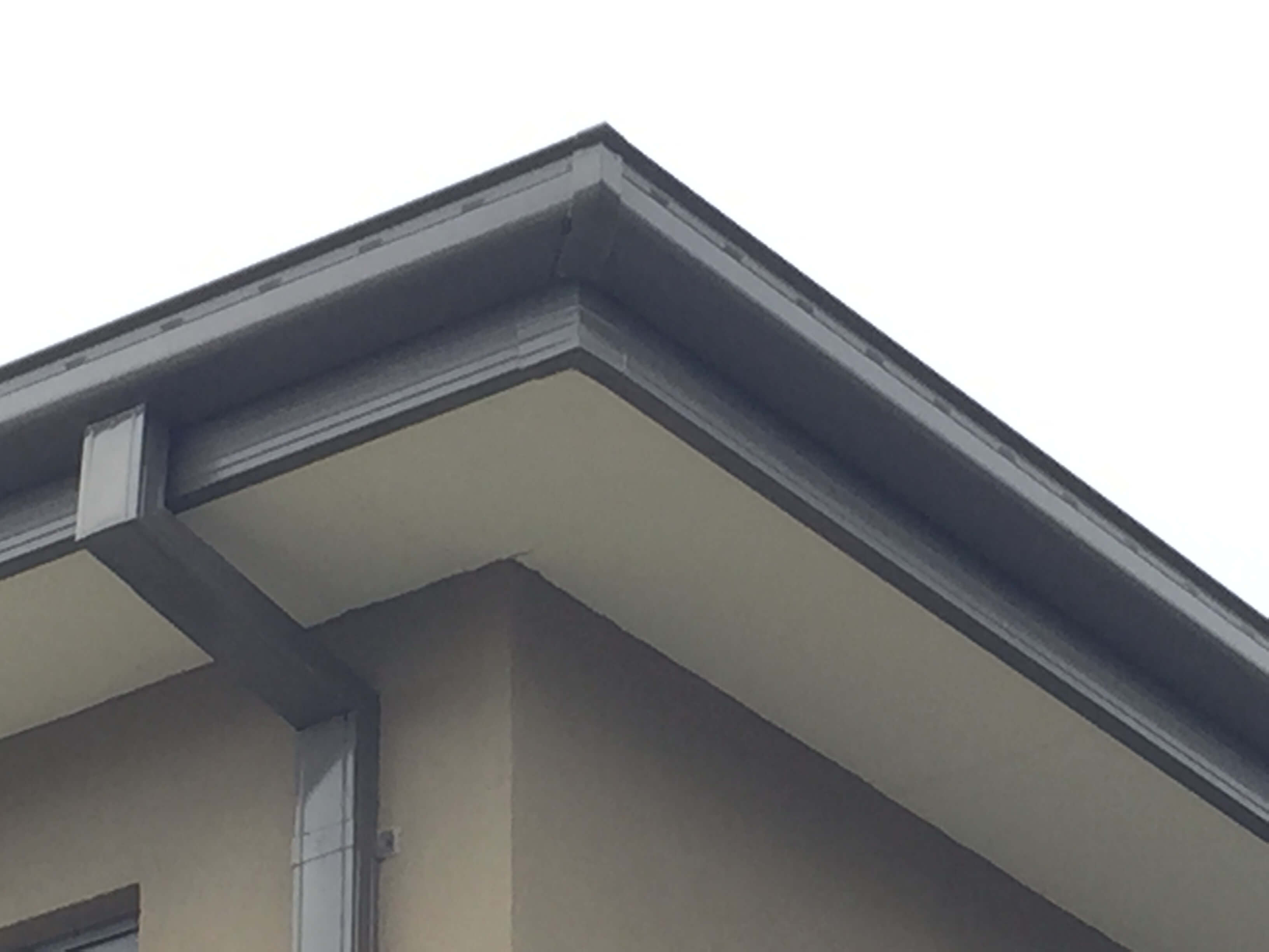 Grey Gutters And Downpipes New Quad Gutter Fascia Cover